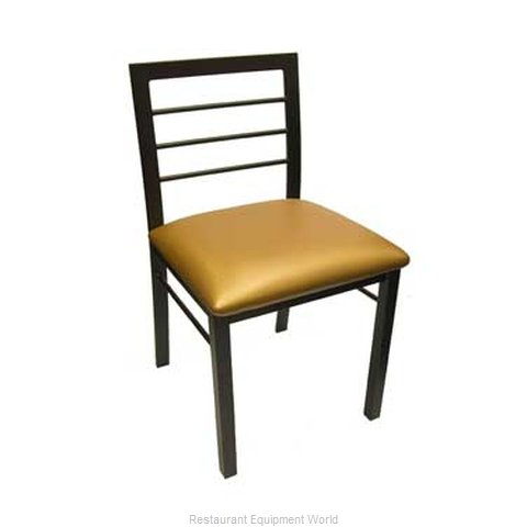 Carrol Chair 2-414 GR2 Chair Side Indoor (Magnified)