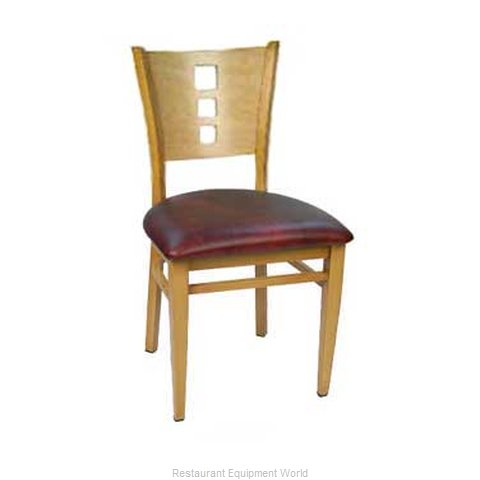 Carrol Chair 2-672 GR1 Chair Side Indoor