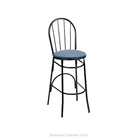 Carrol Chair 3-124 GR5 Bar Stool Indoor (Magnified)