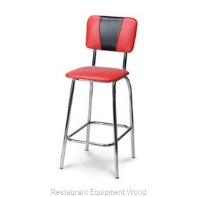 Carrol Chair 3-155 GR6 Bar Stool, Indoor