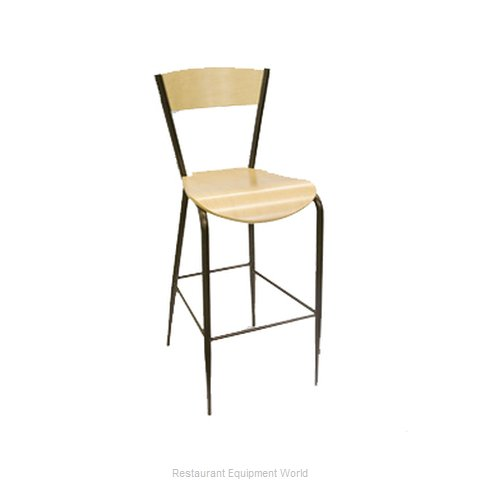 Carrol Chair 3-176 GR1 Bar Stool Indoor (Magnified)