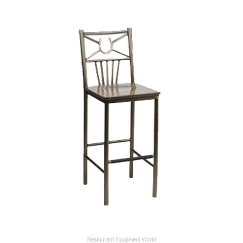 Carrol Chair 3-241 GR4 Bar Stool Indoor