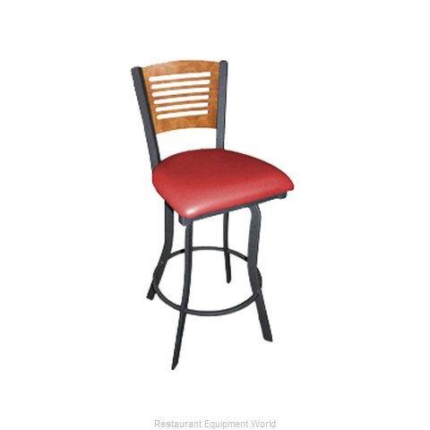 Carrol Chair 3-368-S14 GR1 Bar Stool Swivel Indoor