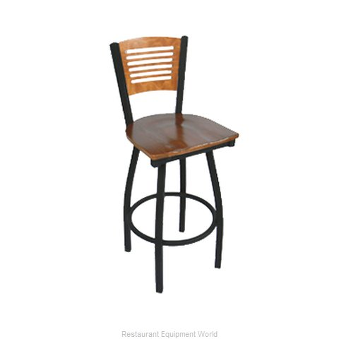 Carrol Chair 3-368-S15 GR6 Bar Stool Swivel Indoor (Magnified)