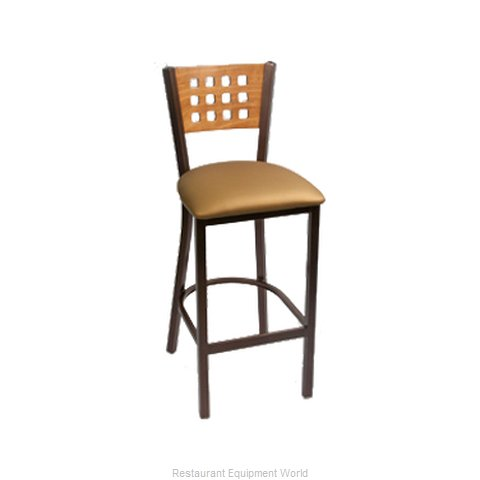 Carrol Chair 3-369 GR1 Bar Stool Indoor (Magnified)