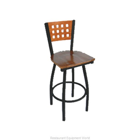 Carrol Chair 3-369-S15 GR6 Bar Stool Swivel Indoor (Magnified)