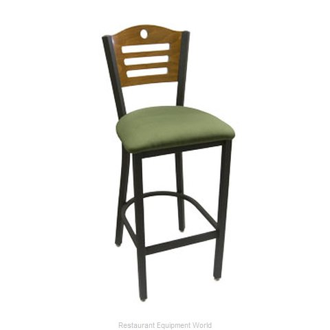 Carrol Chair 3-370 GR3 Bar Stool Indoor (Magnified)