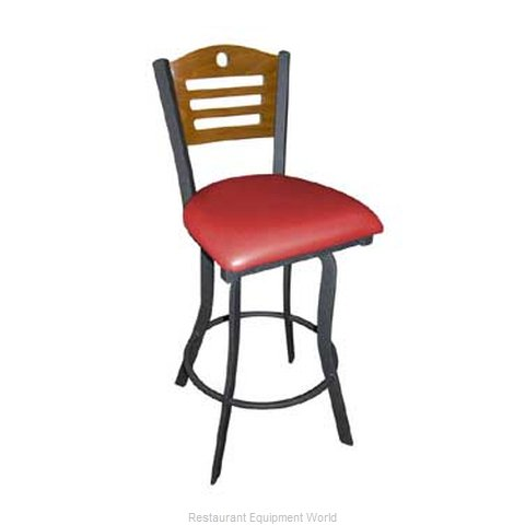 Carrol Chair 3-370-S14 GR1 Bar Stool Swivel Indoor