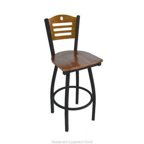 Carrol Chair 3-370-S15 GR1 Bar Stool Swivel Indoor