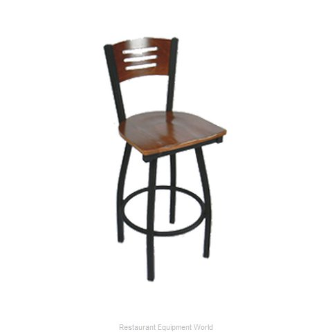 Carrol Chair 3-371-S15 GR6 Bar Stool Swivel Indoor (Magnified)