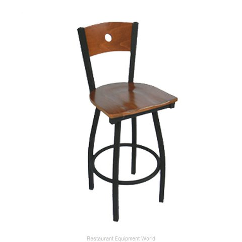 Carrol Chair 3-372-S15 GR6 Bar Stool Swivel Indoor (Magnified)