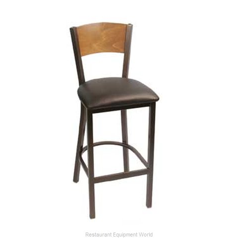 Carrol Chair 3-380 GR5 Bar Stool Indoor (Magnified)