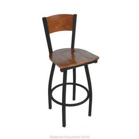 Carrol Chair 3-380-S15 GR6 Bar Stool Swivel Indoor (Magnified)