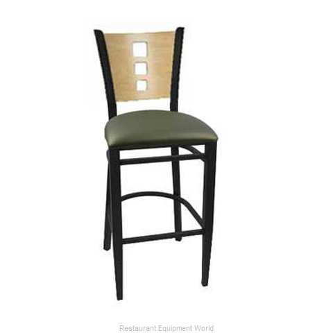Carrol Chair 3-572 GR4 Bar Stool Indoor (Magnified)
