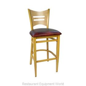 Carrol Chair 3-671 GR6 Bar Stool Indoor