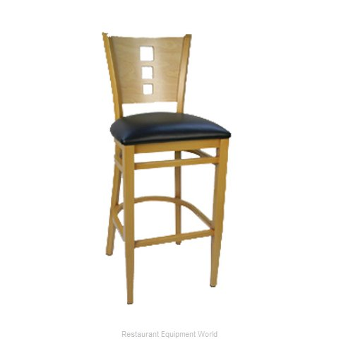 Carrol Chair 3-672 GR1 Bar Stool Indoor (Magnified)