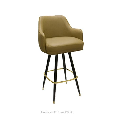 Carrol Chair 4-1011 GR6 Bar Stool Swivel Indoor (Magnified)