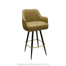 Carrol Chair 4-1011 GR6 Bar Stool Swivel Indoor