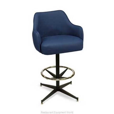 Carrol Chair 4-1030 GR1 Bar Stool Swivel Indoor (Magnified)