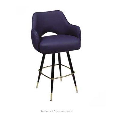 Carrol Chair 4-1111 GR6 Bar Stool Swivel Indoor (Magnified)