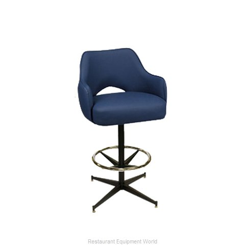 Carrol Chair 4-1130 GR6 Bar Stool Swivel Indoor (Magnified)