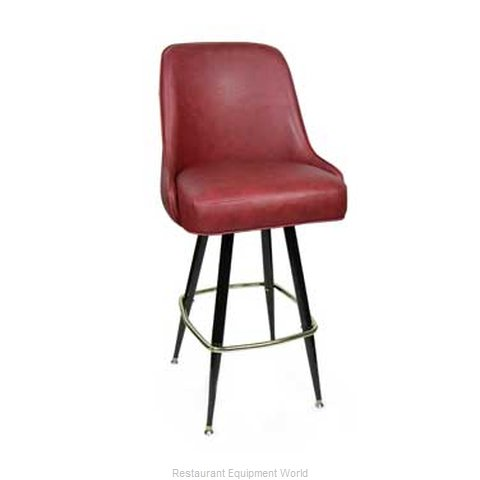 Carrol Chair 4-1311 GR6 Bar Stool Swivel Indoor (Magnified)