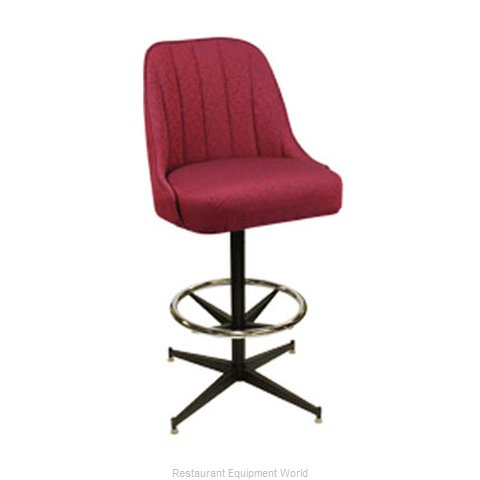 Carrol Chair 4-1330 GR6 Bar Stool Swivel Indoor (Magnified)