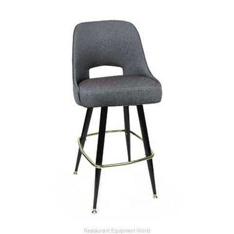Carrol Chair 4-1411 GR2 Bar Stool Swivel Indoor (Magnified)