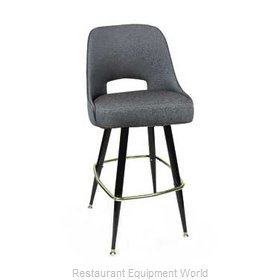 Carrol Chair 4-1411 GR6 Bar Stool Swivel Indoor