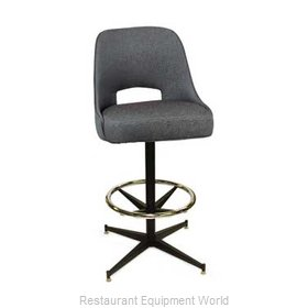 Carrol Chair 4-1430 GR3 Bar Stool Swivel Indoor