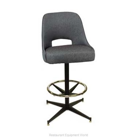 Carrol Chair 4-1430 GR6 Bar Stool Swivel Indoor (Magnified)