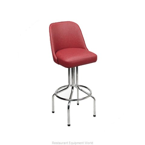 Carrol Chair 4-2302 GR6 Bar Stool Swivel Indoor (Magnified)