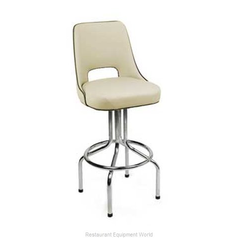 Carrol Chair 4-2402 GR1 Bar Stool Swivel Indoor (Magnified)