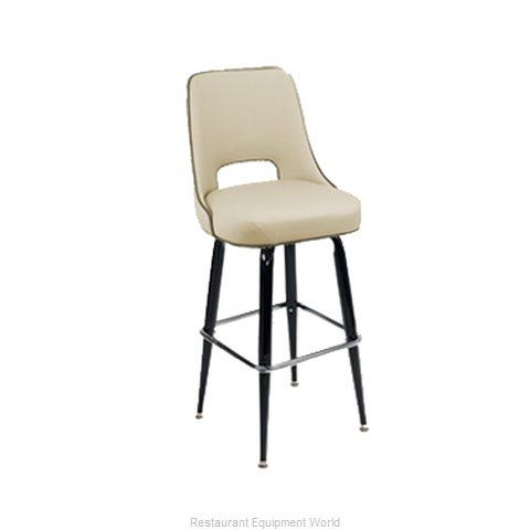 Carrol Chair 4-2410 GR1 Bar Stool Swivel Indoor (Magnified)