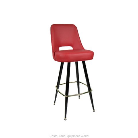 Carrol Chair 4-2411 GR3 Bar Stool Swivel Indoor (Magnified)