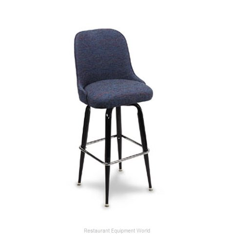 Carrol Chair 4-3310 GR1 Bar Stool Swivel Indoor (Magnified)
