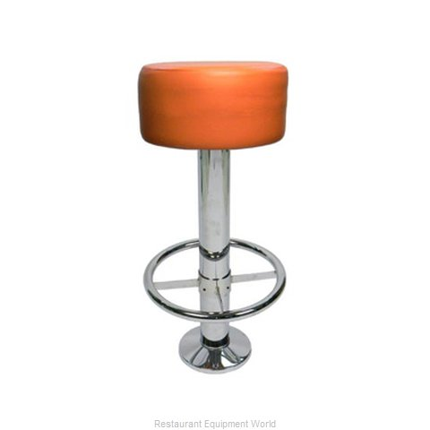 Carrol Chair 4-8641 GR1 Bar Stool Swivel Indoor (Magnified)
