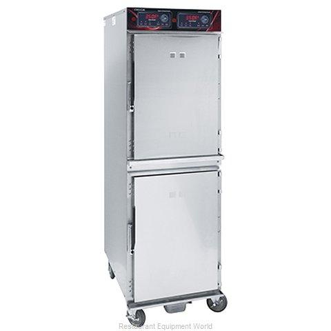 Crescor 1000-CH-SS-2DE Cabinet, Cook / Hold / Oven