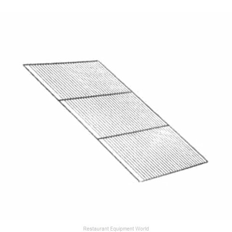 Crescor 1170-005-SS Heated Cabinet Shelf (Magnified)