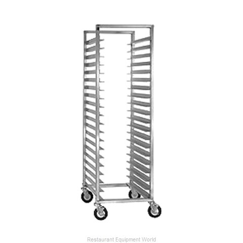 Crescor 207-1524 Rack Mobile Tray Single Compartment
