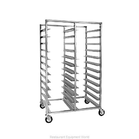 Crescor 2213-1824B Tray Rack, Mobile, Double / Triple (Magnified)
