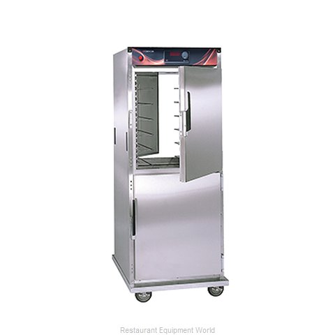 Crescor H-137-PSUA-12D Heated Cabinet, Mobile, Pass-Thru (Magnified)