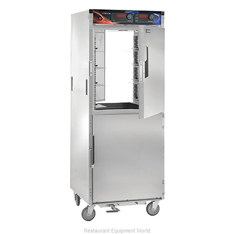 Crescor H-137-PWSUA-12D Heated Holding Cabinet Mobile Pass-Thru