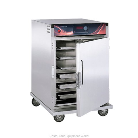 Crescor H-137-SUA-6D Heated Holding Cabinet Mobile Half-Height
