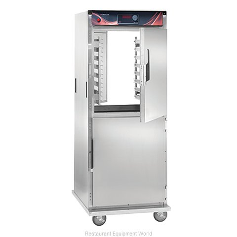 Crescor H-138-PS-1834D Heated Holding Cabinet Mobile Pass-Thru