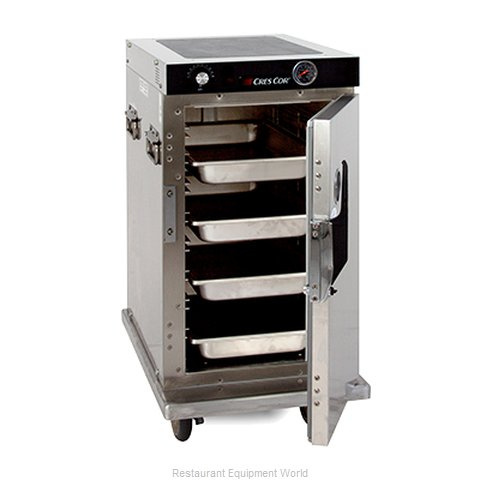 Crescor H-339-SS-128C Heated Holding Cabinet Mobile Half-Height