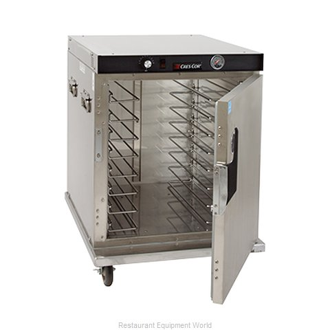 Crescor H-339-SS-UA-8C Heated Cabinet, Mobile