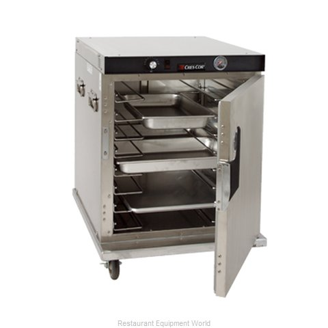 Crescor H-339-UA-8C Heated Holding Cabinet Mobile Half-Height