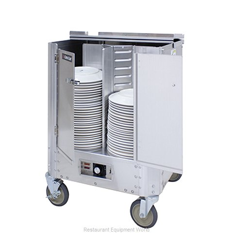 Crescor HJ-531-10-240 Cart Heated Dish Storage