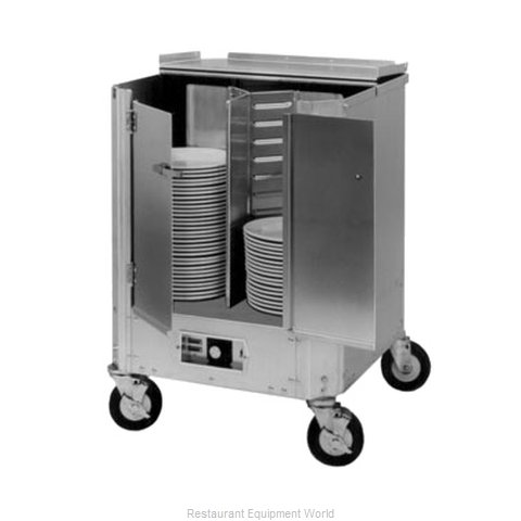 Crescor HJ-531-13-180 Cart Heated Dish Storage